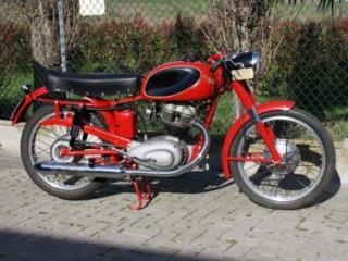 Moto Morini: 175 settebello, 1956