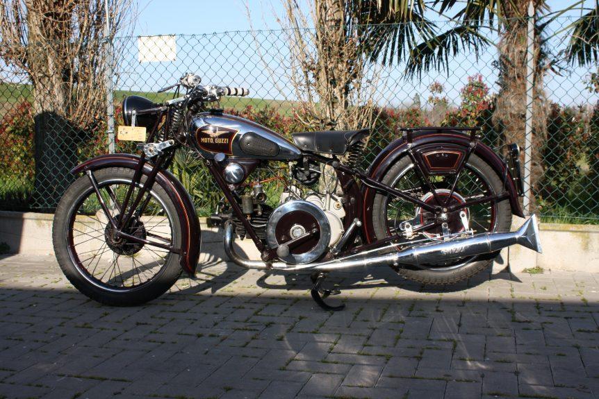 Moto Guzzi P250 del 1935