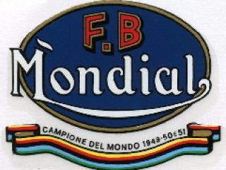 Logo moto F.B. Mondial
